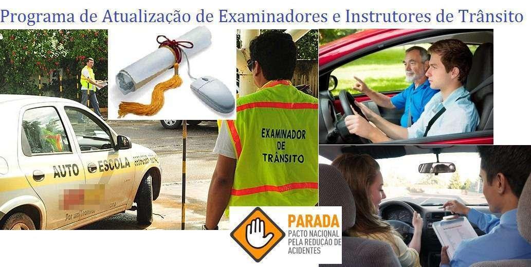 cursos para examinadores e instrutores de transito DETRAN DENATRAN